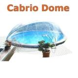 3,50 bis 3,60 m Poolabdeckung Cabrio-Dome