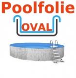 6,00 x 3,20 x 1,50 m x 0,8 Schwimmbadfolie oval Einhängebiese