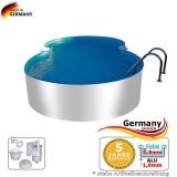 Alu-Pool 7,25 x 4,60 x 1,25 m