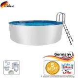 Alupool 4,20 x 1,25 m Aluminium-Pool
