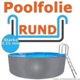 Ersatzfolie rund 400 x 0,92 cm x 0,25 Poolfolie Innenfolie
