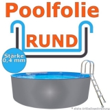 Ersatzfolie rund 460 x 120 cm x 0,4 Poolfolie Innenhülle Pool