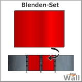 Germany-Pools Wall Blende A Tiefe 1,25 m Edition Red