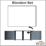 Germany-Pools Wall Blende B Tiefe 1,50 m Edition Omega Alu