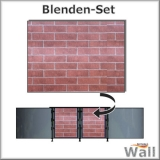 Germany-Pools Wall Blende C Tiefe 1,20 m Edition Brick
