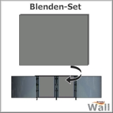 Germany-Pools Wall Blende C Tiefe 1,25 m Edition German-Dream Edelstahl