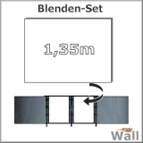 Germany-Pools Wall Blende C Tiefe 1,35 m Edition Alpha Weiß