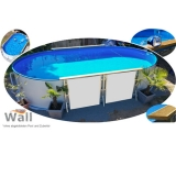 Ovalpool freistehend 6,00 x 3,20 m Germany-Pools Wall