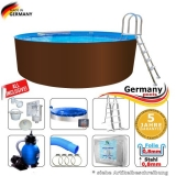 Pool 400 x 125 cm Set