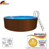 Pool 5,0 x 1,25 m
