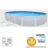 Pool 6,1 x 3,6 x 1,2 m Breiter Handlauf 15 cm