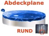 Pool Abdeckplane 2,0 - 2,5 m Poolabdeckung 250 Winterplane rund 2,5