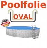 Poolfolie sandfarben 7,00 x 3,50 x 1,20 m x 0,8 Einhängebiese