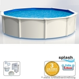 Schwimmbad 5,50 x 1,20 m STARK1 Breiter Handlauf 15 cm