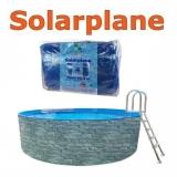 Solarplane 6,0 - 6,4 m pool rund 640 cm Solarfolie 600 cm
