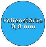 Poolfolie acht 6,25 x 3,60 x 1,20 m x 0,8 Folie Ersatz