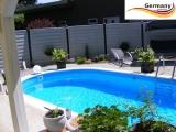 Schwimmbecken 6,1 x 3,6 x 1,35 m