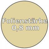 Poolfolie oval 6,00 x 3,20 x 1,35 m x 0,8 Folie Ersatz Sand