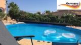 Stahl-Pool 200 x 125 cm Komplettset Anthrazit