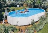 Einbaupool 6,1 x 3,6 x 1,2 m Set Breiter Handlauf 15 cm