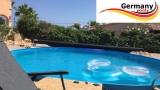Solarplane 7,3 x 3,6 m pool oval 730 x 360 cm Solarfolie