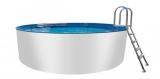 Alupool 3,50 x 1,25 m Aluminium-Pool