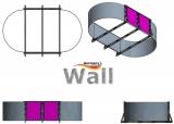 Ovalpool freistehend 5,30 x 3,20 m Germany-Pools Wall